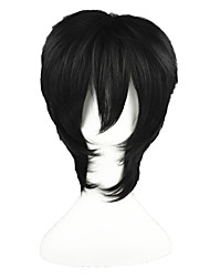cheap -Synthetic Wig Straight Synthetic Hair Black Wig Women's Capless