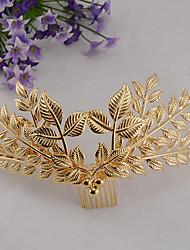 abordables -tiaras de aleación peinetas de pelo elegante estilo femenino clásico elegante