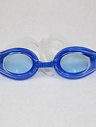 abordables -Lunettes de natation Taille ajustable Sangle antidérapant Polyuréthane Polycarbonate Bleu Bleu