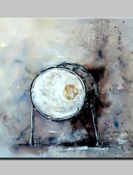 dipinto lager mano pittura a olio tamburo sulla foto arte della parete della tela di canapa per la casa whit cornice pronta per essere appesa