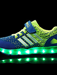 LED Light Up Shoes,Athletic / Casual Synthetic Fashion Sneakers Blue / Pink / Orange
