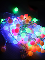 10M Led String Lights With 100Led Ball Ac220V Holiday Decoration Lamp Festival Lights Outdoor Lighting