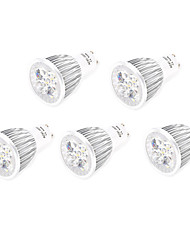 cheap -5pcs 7W GU10/E27 LED Spotlight 5 High Power LED 800lm Warm White Cold White Decorative AC85-265V
