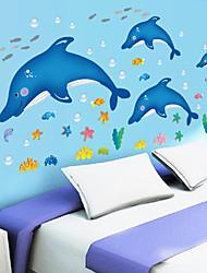 preiswerte -Tiere / Cartoon Design / Stillleben / Mode / Freizeit Wand-Sticker Flugzeug-Wand Sticker,PVC 90*60*0.1