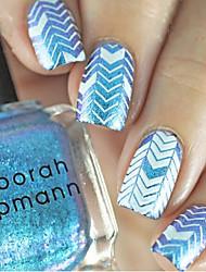 cheap -1pcs  New Nail Art Stamping Plates  DIY Geometric Image Templates Tools Nail Beauty XY-J04