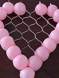 Heart Shape Balloon Grid DIY Party Wedding Birthday Decoration(Not Contain  Balloon)