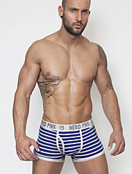 cheap -Men's Super Sexy Briefs Underwear Striped 1 Piece
