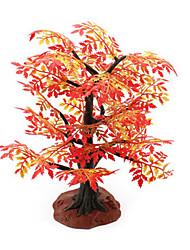 Недорогие -строительного песка игрушка таблица имитационная модель дерева смола завод красный клен мини садоводства сцена