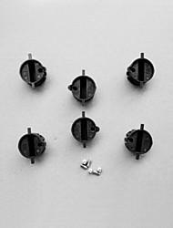 abordables -fcs enchufe enchufes aleta cuadro de aleta (6 piezas)