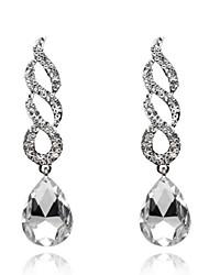 cheap -Lady's Gem Zircon Drop Earrings Fine Jewelry for Lady Party