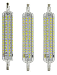 cheap -R7S LED Corn Lights T 120 SMD 2835 800 lm Warm White Cool White Waterproof Decorative AC 220-240 V 3 pcs