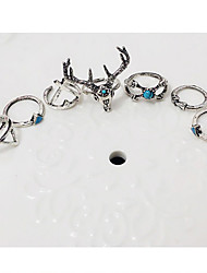 cheap -Alloy Deer - Geometric / Animal Party / Work / Casual Silver Ring For Party / Daily / Casual