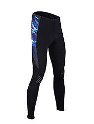 cheap -TASDAN Cycling Tights Men's Bike Tights Bottoms Spring Bike Wear 3D Pad Quick Dry Breathable Sweat-wicking Reflective Strips Solid Colored
