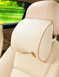1Pcs Car neck Headrest Seat Cushion Space Memory Foam