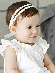 Kid's Double Layers Lace Floral with Crystals  headband(0-10Years Old)