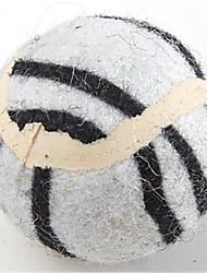 Недорогие -Шарообразные / Игровая мышь Мячи для тенниса текстильный Назначение Игрушка для собак