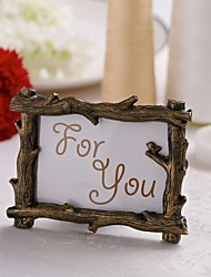 economico -portacandele antique tree branch place frame placecard