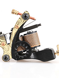 cheap -Coil Tattoo Machine Handmade Shader Cast Iron Professional Tattoo Machine