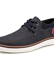 cheap -Men's Board Shoes Casual/Travel/Outdoor Fashion Sneakers Canvas Leather Plus Size Shoes EU39-EU46