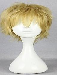 povoljno -Sintentička kosa perika Kovrčav Kratko Pink Braon Plavuša Plava