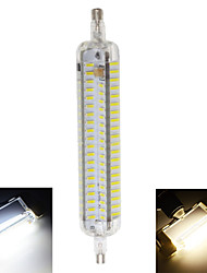 cheap -800 lm R7S LED Corn Lights T 152 leds SMD 4014 Waterproof Decorative Warm White Cold White AC 220-240V