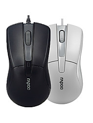 cheap -Orginal Rapoo N1162 Wired Mouse USB 2.0 Pro Gaming Mouse Optical Mice For Computer PC Office Black/White