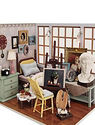 Недорогие -поделки хижина чи весело дом творческие подарки День Святого Валентина лучшее время вручную собранный дом