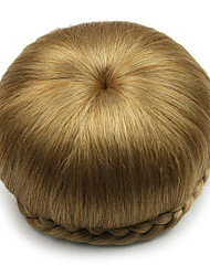 cheap -Brown Classic Chic & Modern Hair Bun Updo High Quality chignons Hair Accessory Synthetic Hair Hair Piece Hair Extension Classic Chic &