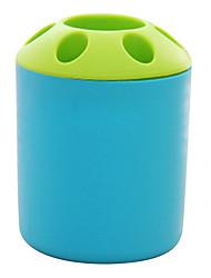 baratos -Gadget de Banheiro Criativo Mini Plástico 1 Pça. - Banheiro Escova de Dentes e Acessórios