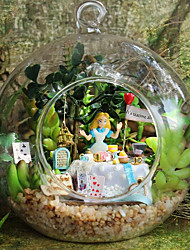 cheap -Chi Fun House Diy Cabin B-011 Alice Forest House Model Handmade Birthday Gift Ideas