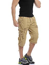 ieftine Pantaloni Cargo-Bărbați Relaxat Pantaloni