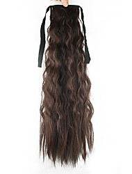 cheap -Ponytails Synthetic Hair Hair Piece Hair Extension Deep Wave