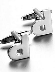 billige -Sølv Manchetter Legering Kontor Afslappet Herre Kostume smykker