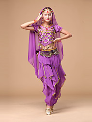 Shall We Belly Dance Women Top/Pants/Hip Scarf Outfits