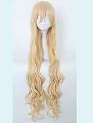 economico -a buon mercato halloween Gosick Victorique de Blois di alta qualità 120 centimetri estendere la parrucca cosplay ondulata biondi lunghi
