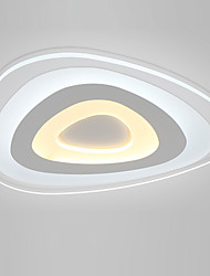 cheap -24W Flush Mount ,  Modern/Contemporary for LED Metal Living Room / Bedroom / Dining Room / Kitchen