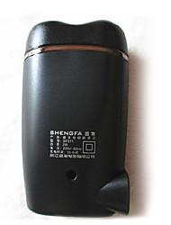 billige -Elektrisk barbermaskin Herre Ansikt Elektrisk / Roterende Barbermaskin Dreibart Hode Rustfritt Stål SHENGFA