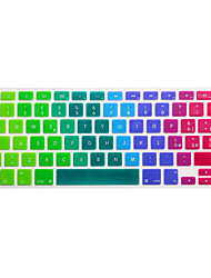 cheap -Italian Language Colorful Silicone Keyboard Cover Skin for Macbook Air 13.3/Macbook Pro 13.3 15.4,EU version
