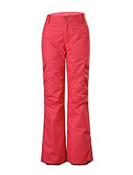 GSOU SNOW Mulheres Calças de Esqui Prova-de-Água Térmico/Quente Secagem Rápida A Prova de Vento Resistente Raios Ultravioleta Vestível