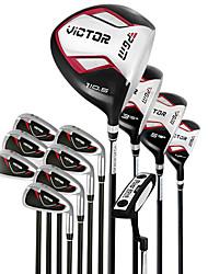 baratos -metais unisex outdoor wearproof um conjunto completo de 12 iniciante clube de golfe