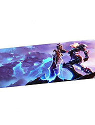 Cartoon Gaming Mouse Pad with Super Large Size 900*400mm and Locking Edge for Desktop and Laptop