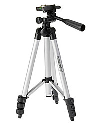 Ismartdigi i-3110 4-Section Camera Tripod (Silver+Black) for All D.Camera V.Camera Nikon Canon Sony Olympus...