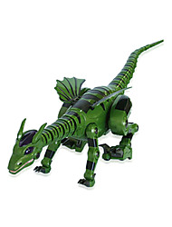 cheap -RC Toys Remote Control Fire-Breathing Dragon Animal Model Glow Dinosaur Children Electric Toy