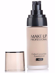 cheap Makeup For Face-LaiKou Pro Whitening Moisturizer Concealer Contour Waterproof Color Correction Finish Liquid Foundation BB Cream