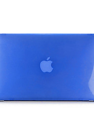 abordables -MacBook Funda Color sólido / Transparente El plastico para MacBook Air 13 Pulgadas / MacBook Air 11 Pulgadas