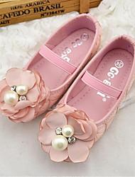 ДЕВУШКА-Обувь на плоской подошве(Розовый / Белый) -Удобная обувь