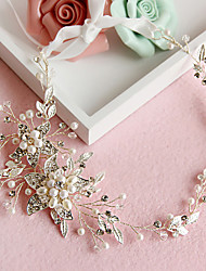 Crystal Imitation Pearl Alloy Headbands Headpiece