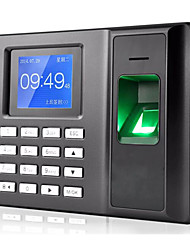 cheap -Fingerprint Work Attendance Machine Punch Card Machine Free Installation Software