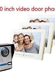 10 Inch Large Screen HD 700  Video Intercom Doorbell On A Villa Three