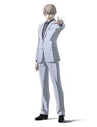 Ispirato da Ajin Tosaki Anime Costumi Cosplay Abiti Cosplay Tinta unita Manica lunga Cappotto Maglietta Pantaloni Cravatta Per Uomo Donna
